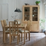 Ercol Bosco Medium Extending Dining Table and 6 Chairs 5