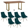 Mario Dining Table and 4 Chairs 2