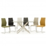 Umbria Black  Dining Chair 4