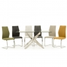 Umbria Black Dining Chair 3