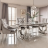 Valentina Dining Table and 4 Chairs 1