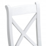 Cookes Collection Thames White Crossed Back Chair 7