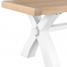 Cookes Collection Thames White Small Bench 3
