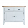 Cookes Collection Thames White 2 Door Sideboard 2