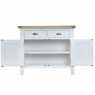 Cookes Collection Thames White 2 Door Sideboard 5