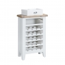 Cookes Collection Thames White -  Wine Cabinet 4