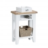 Cookes Collection Thames White Telephone Table 4