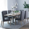 Cookes Collection Madeira Extending Dining Table and 6 Chairs 1