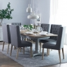 Cookes Collection Madeira Extending Dining Table and 6 Chairs