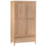Cookes Collection Blackburn 2 Door Wardrobe with Drawer 1