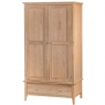 Cookes Collection Blackburn 2 Door Wardrobe with Drawer 2