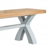 Cookes Collection Thames Grey Large Cross Bench 3
