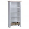 Cookes Collection Thames Grey Large Bookcase 1