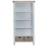 Cookes Collection Thames Grey Large Bookcase 2