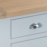 Cookes Collection Thames Grey 4 Door Sideboard 3