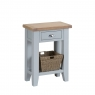 Cookes Collection Thames Grey Telephone Table 1