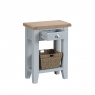 Cookes Collection Thames Grey Telephone Table 3