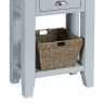 Cookes Collection Thames Grey Telephone Table 6