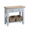 Cookes Collection Thames Grey Small Console Table 1