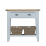 Cookes Collection Thames Grey Small Console Table 2