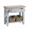 Cookes Collection Thames Grey Small Console Table 3