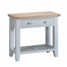 Cookes Collection Thames Grey Small Console Table 4