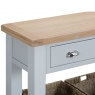 Cookes Collection Thames Grey Small Console Table 5
