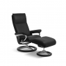 Stressless Aura Small Chair & Stool Signature Base 3