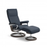 Stressless Aura Small Chair & Stool Signature Base 5