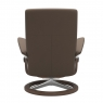 Stressless Dover Medium Chair & Stool Signature Base 3