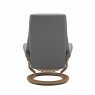 Stressless View Medium Chair & Stool Classic Base 3
