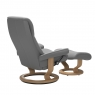 Stressless View Medium Chair & Stool Classic Base 4