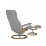 Stressless View Small Chair & Stool Signature Base 4