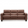 Stressless Wave Low Back 3 Seater Sofa 1