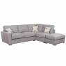 Cookes Collection Oasis Corner Sofa with Footstool