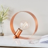Hoop Table Lamp Copper 2