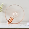 Hoop Table Lamp Copper 3