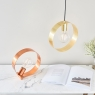 Hoop Table Lamp Copper 4