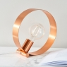 Hoop Table Lamp Copper 5