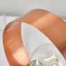 Hoop Table Lamp Copper 7
