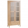 Cookes Collection Blackburn Display Cabinet with Lights 1
