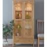 Cookes Collection Blackburn Display Cabinet with Lights 8