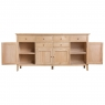 Cookes Collection Blackburn 4 Door Sideboard 4