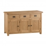 Cookes Collection Colchester 3 Door Sideboard 1