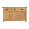 Cookes Collection Colchester 3 Door Sideboard 2