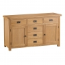 Cookes Collection Colchester 2 Door 6 Drawer Sideboard 1