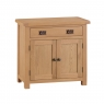 Cookes Collection Colchester 2 Door 1 Drawer Sideboard 1