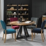 Cookes Collection Iris Circular Dining Table & 4 Chairs 2