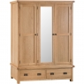 Cookes Collection Colchester 3 Door Wardrobe 1