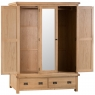 Cookes Collection Colchester 3 Door Wardrobe 3